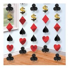 Casino Strings Hanging Decoration